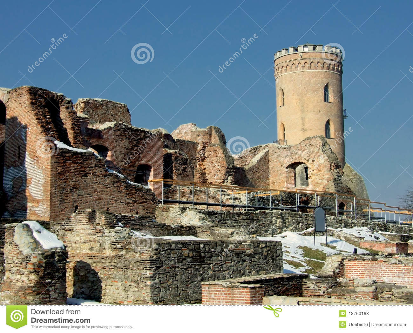 Chindia Tower (Turnul Chindiei) Stock Image - Image of ...  |Chindia