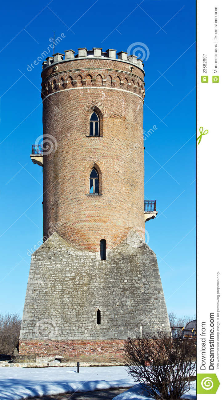 The Chindia Tower (Turnul Chindiei In Romanian) In ...  |Chindia