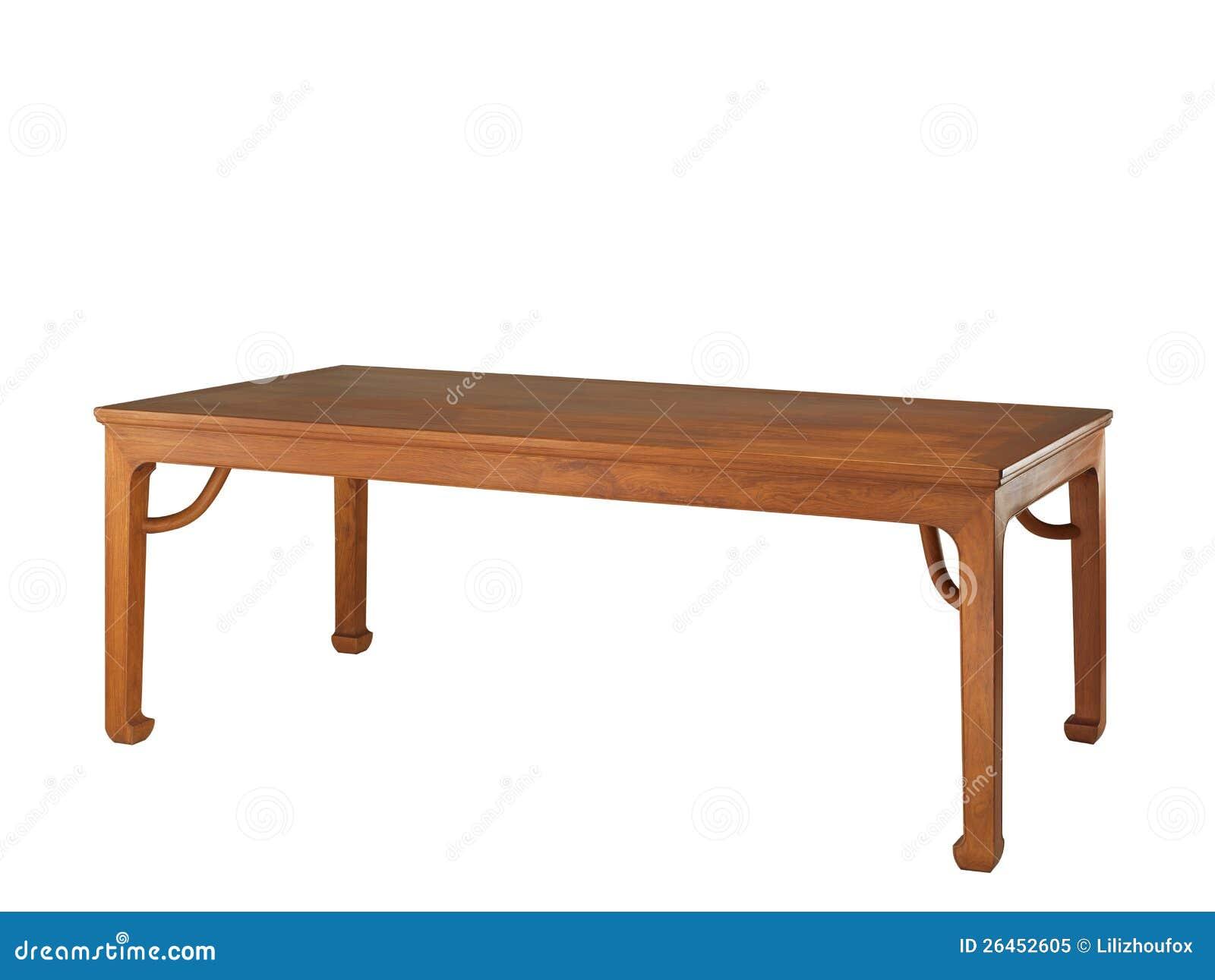 chinees klassiek meubilair van ming stijl stock afbeelding