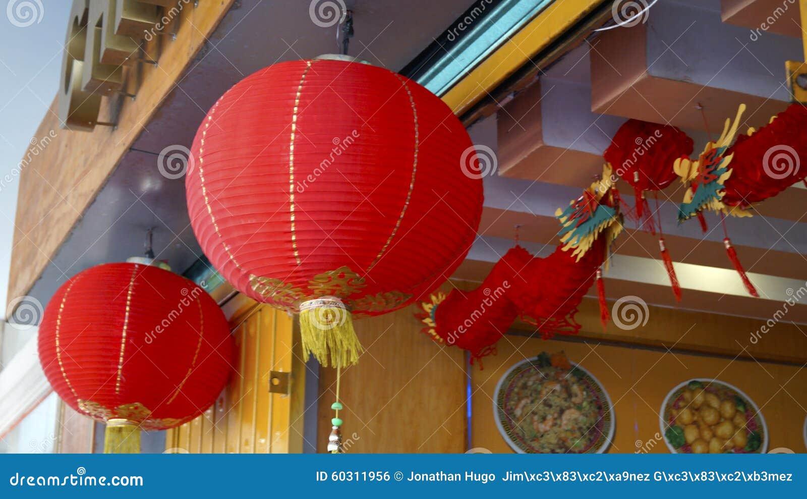 Chinees restaurant buiten decoratie stock foto afbeelding 60311956 - Restaurant decoratie ...