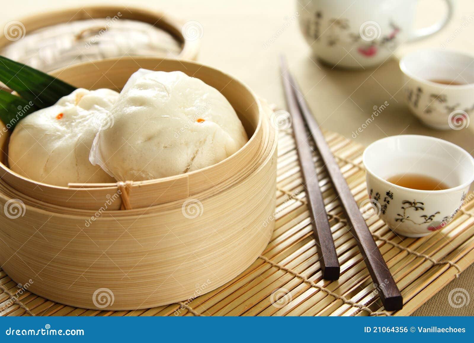 Chinees voedsel [Dimsum of buncha]