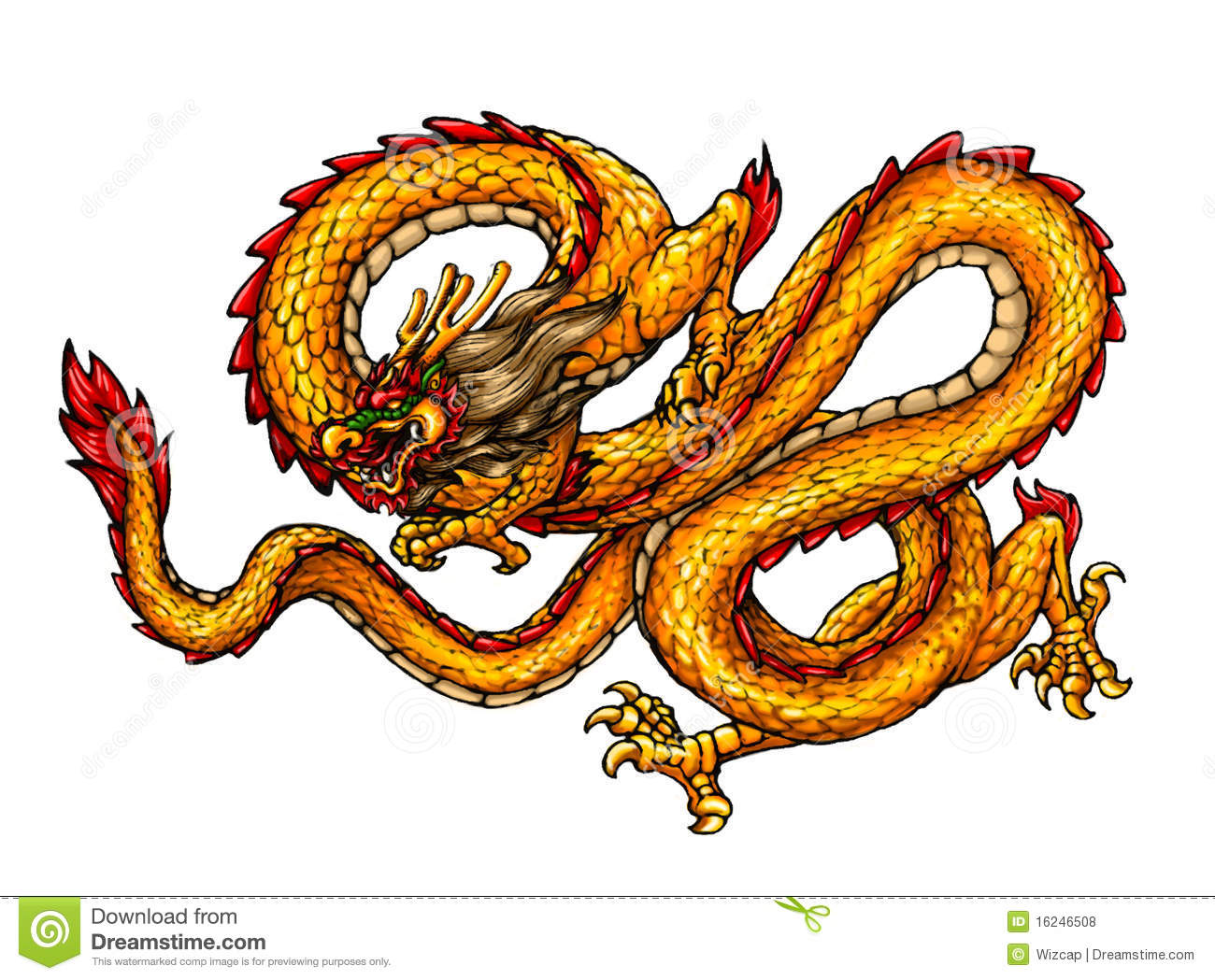 Chinese Ancient Style Dragon Royalty Free Stock Photos Image 16246508