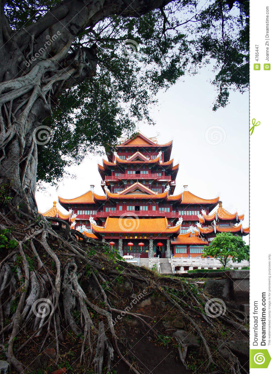 Chinese Ancient Temple Architecture China Stock Image
