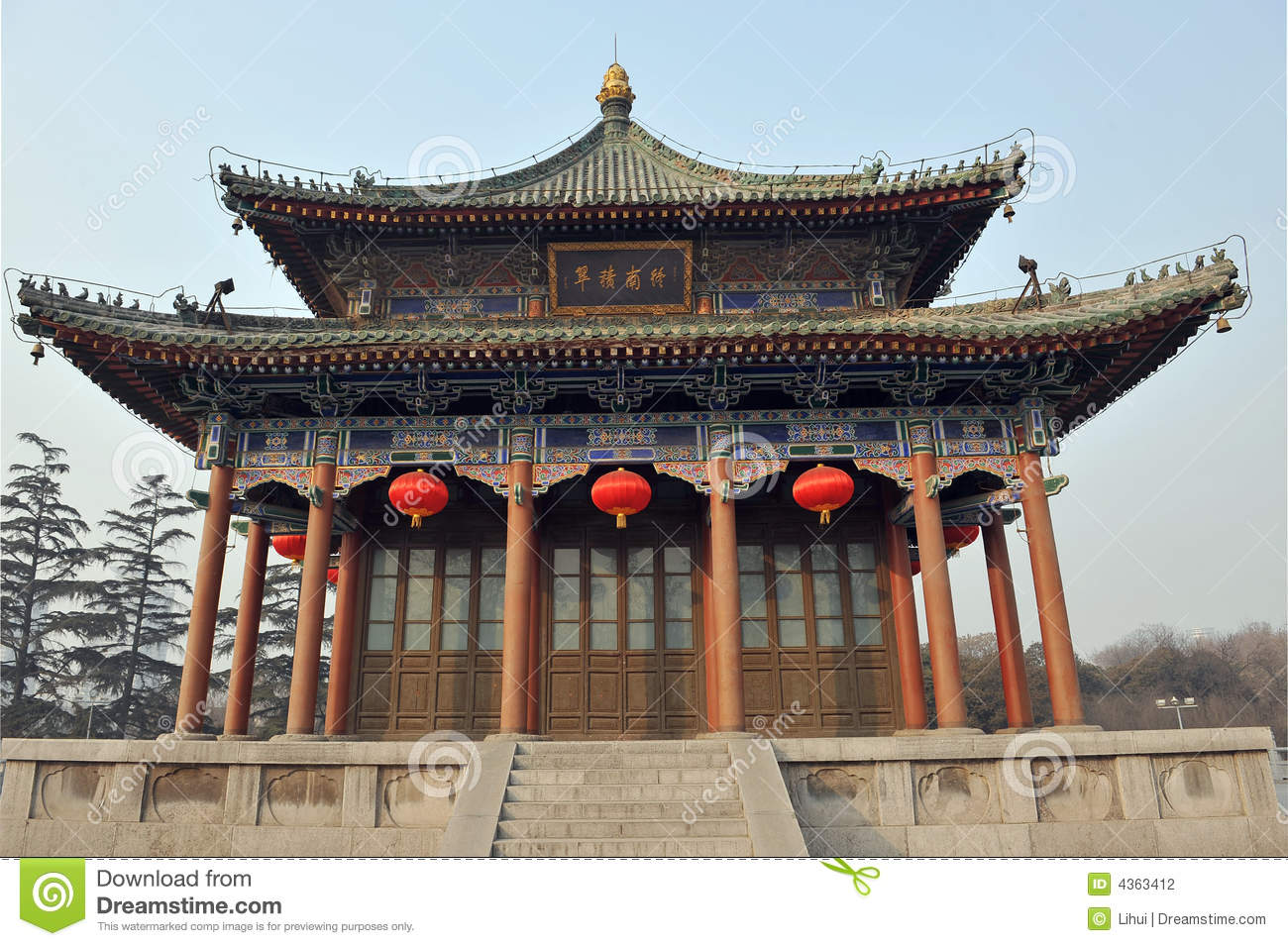 Ancient chinese architecture drawing chinese architecture for Architecture chinoise