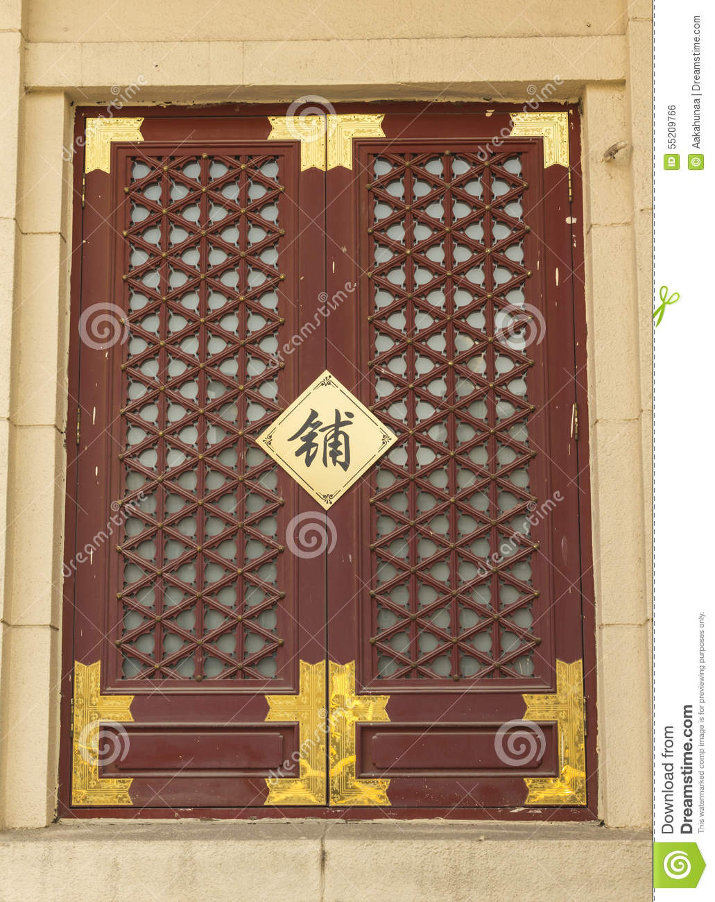 chinese architecture lattice windows stock photo image of