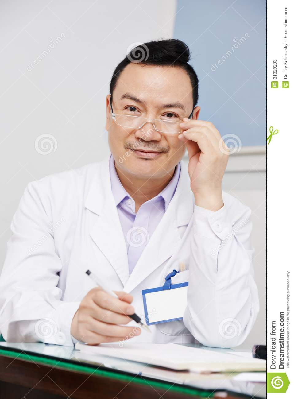 Sorry, Asian male doctor that