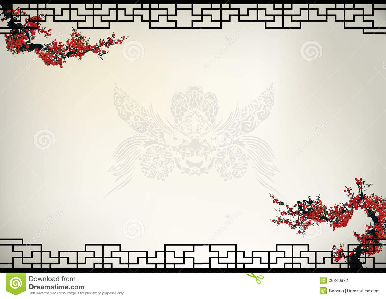 Chinese Background Stock Photography - Image: 36340982