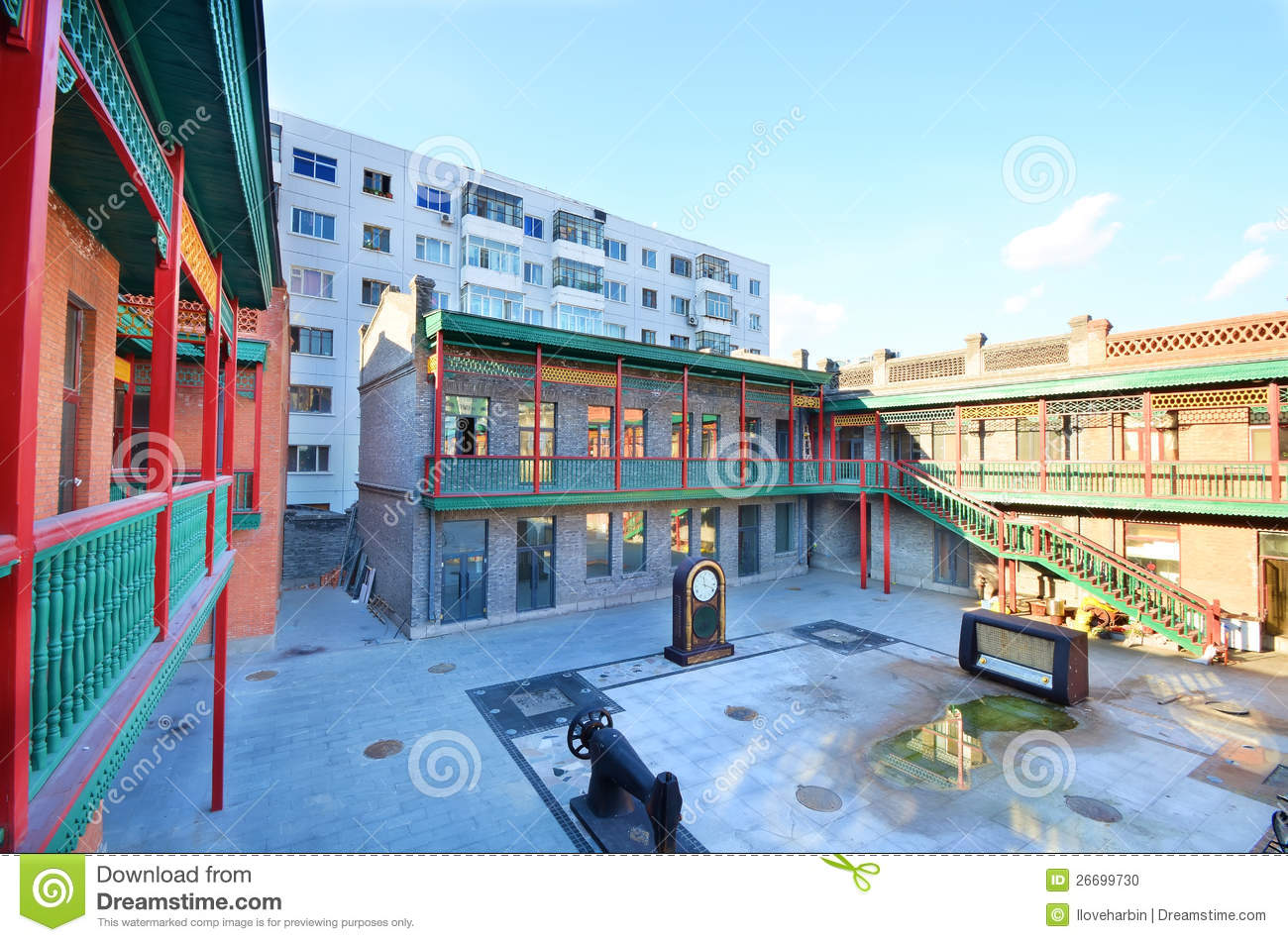 Chinese baroque block stock photo image 26699730 for Chinese in the area