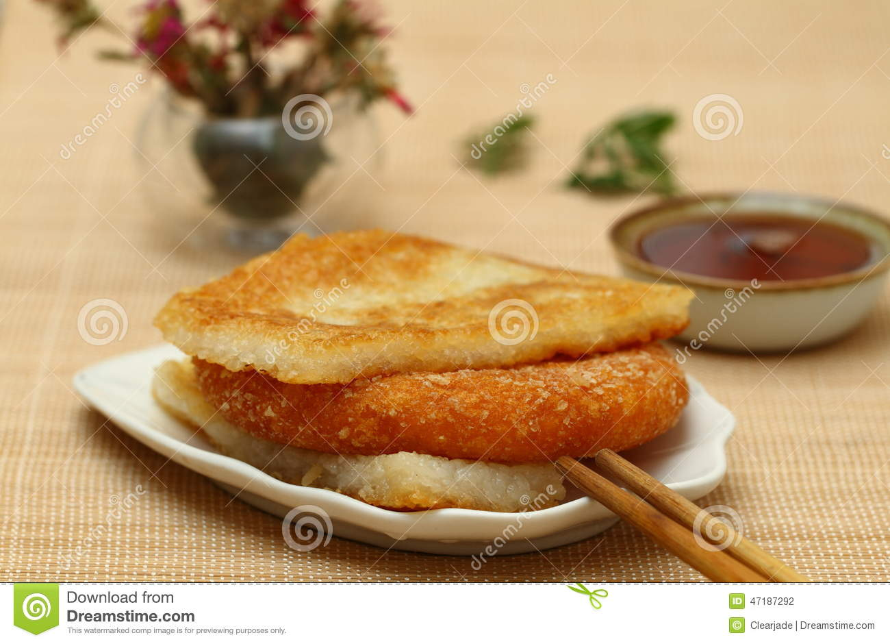 Chinese Breakfast Stock Photo - Image: 47187292