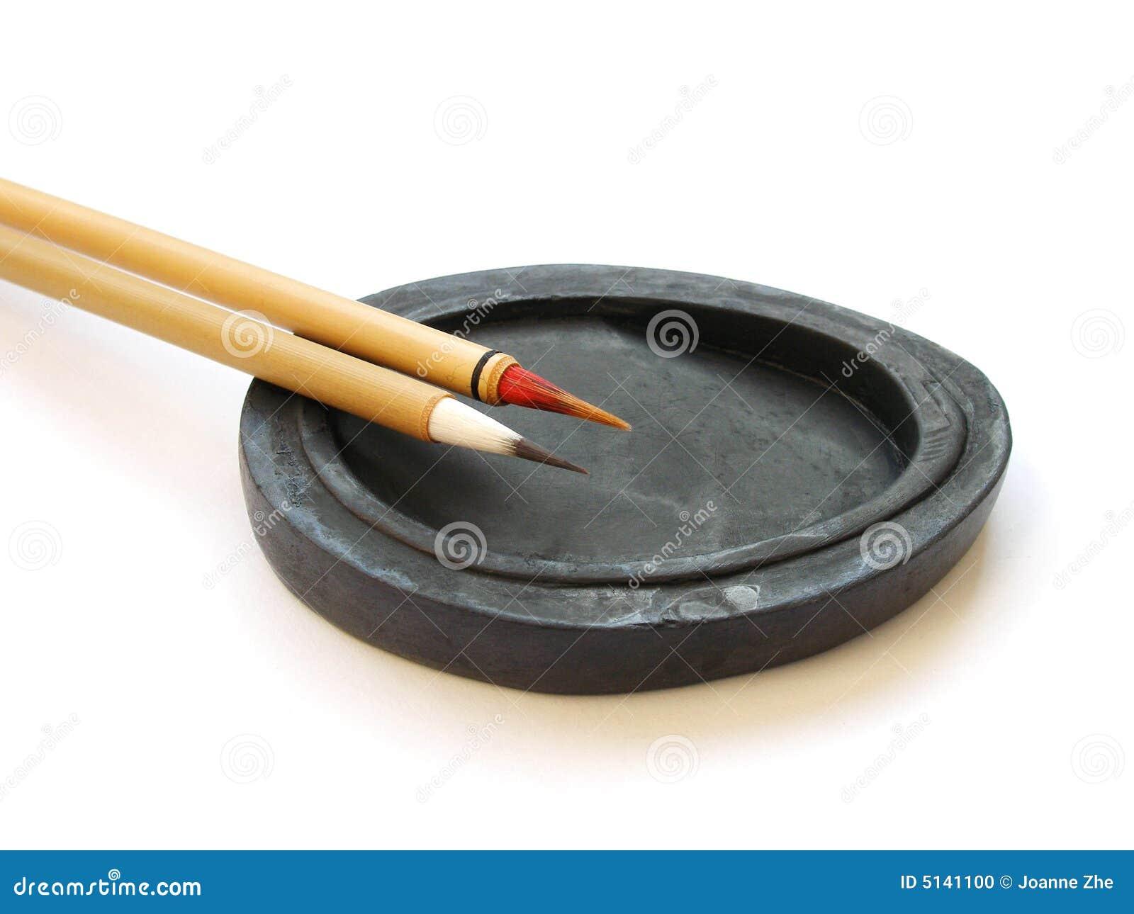 Chinese Brushes Calligraphy Stock Photo Image 5141100
