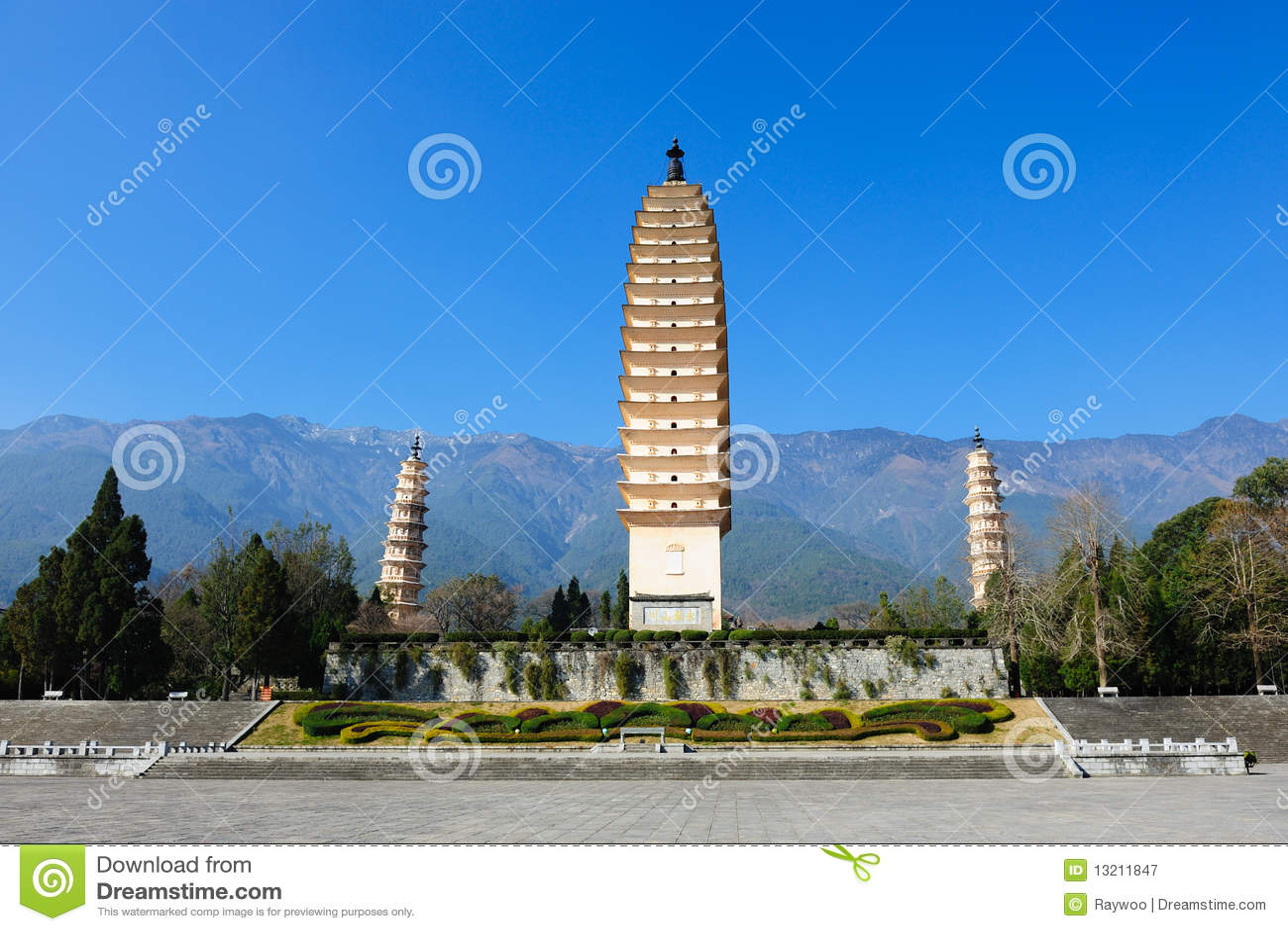 Chinese Buddhist pagodas