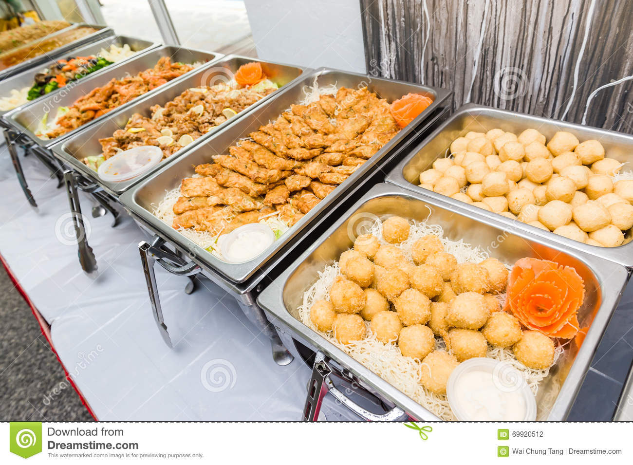 Chinese buffet of asian cuisine stock photo image 69920512 for Asian cuisine buffet
