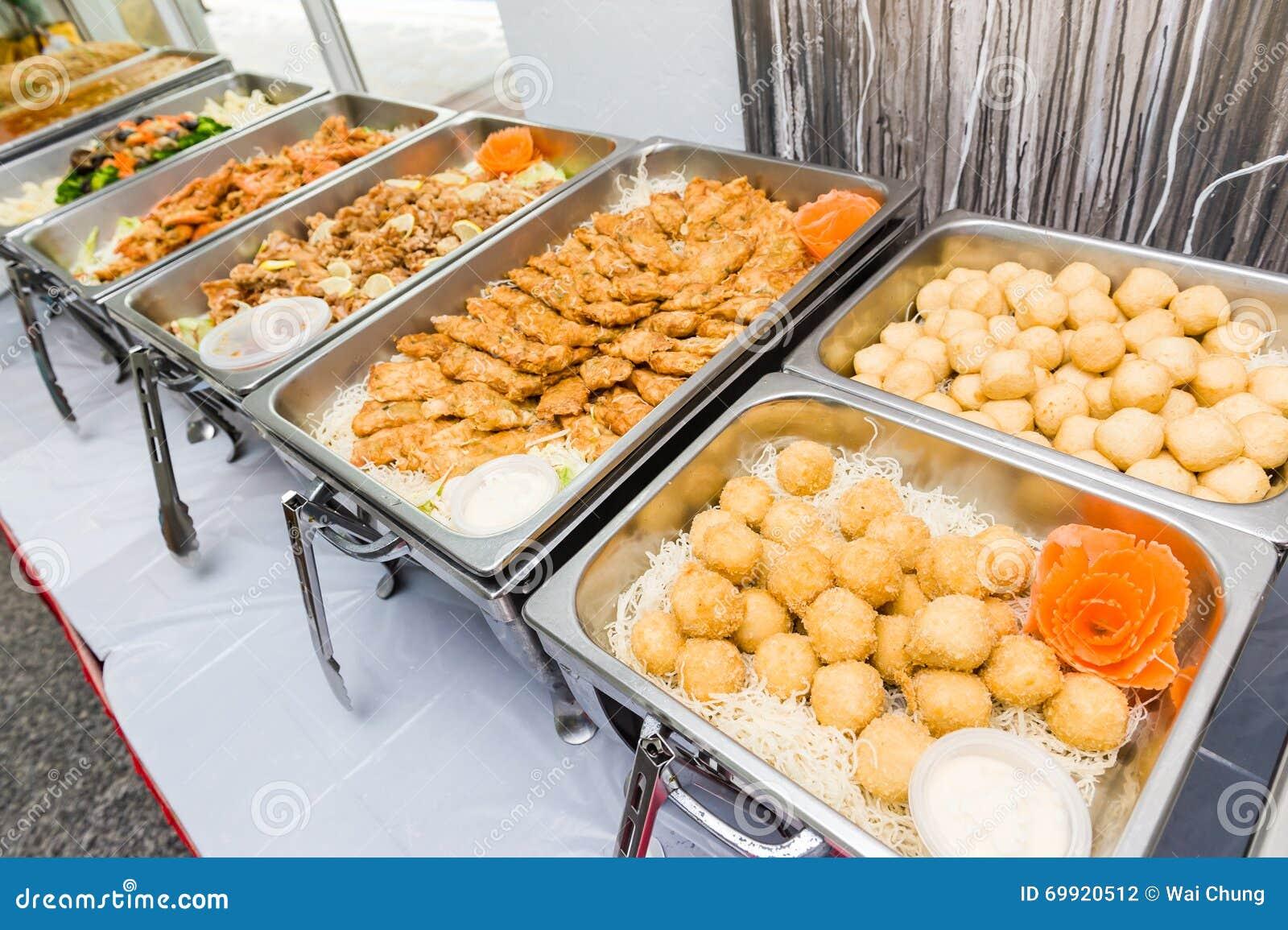 Asian style buffet