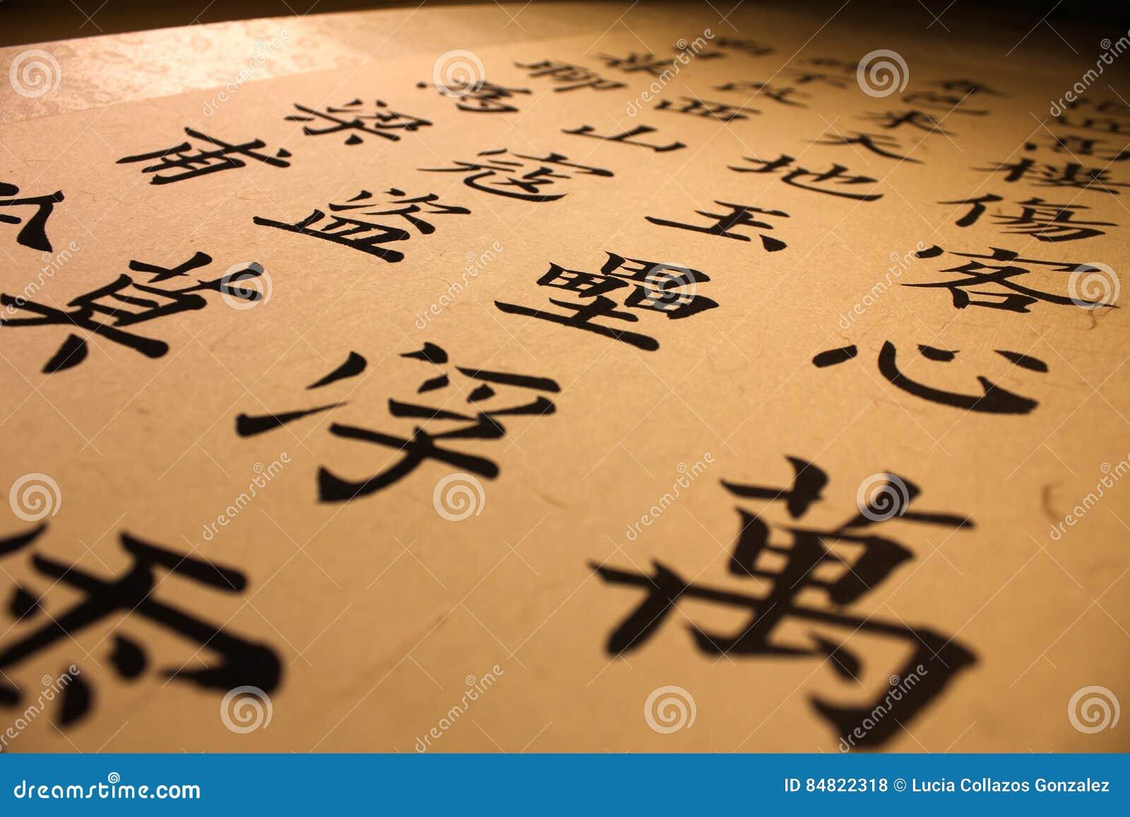 Chinese Calligraphy Stock Illustration Image 84822318