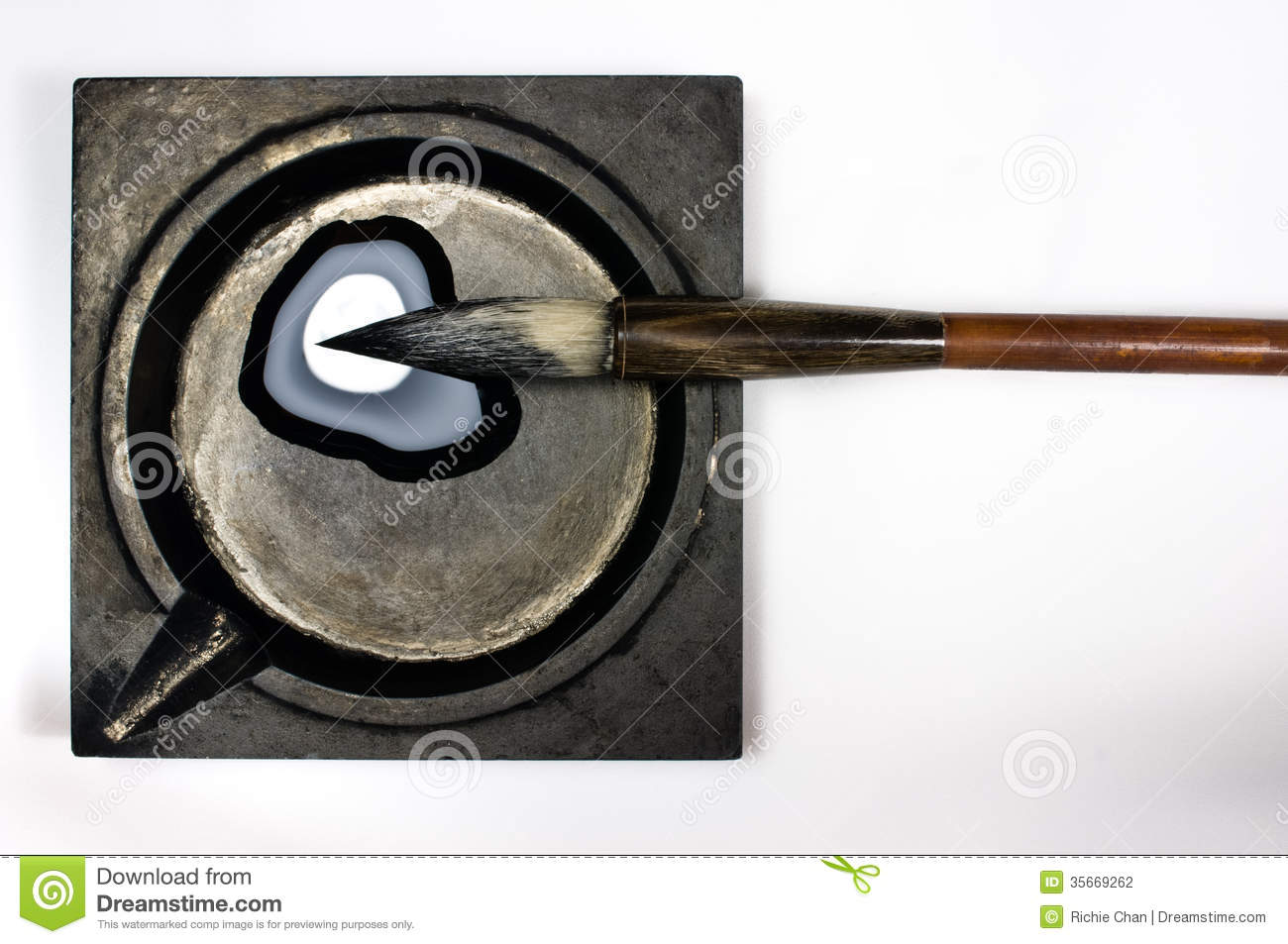 Chinese Calligraphy Set Stock Photography Image 35669262