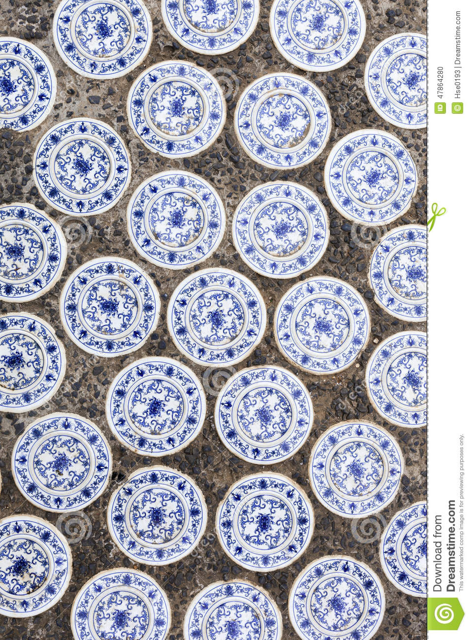 Chinese ceramic tiles stock photo image of orient characteristic royalty free stock photo download chinese ceramic tiles dailygadgetfo Image collections