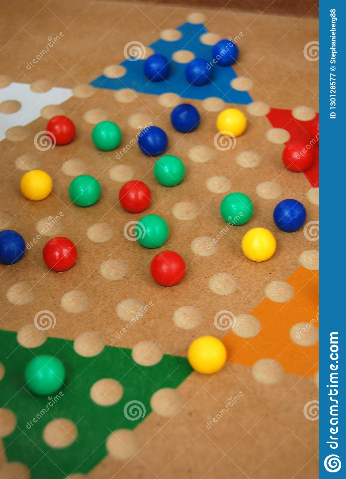 Chinese Checkers Board Game Fun