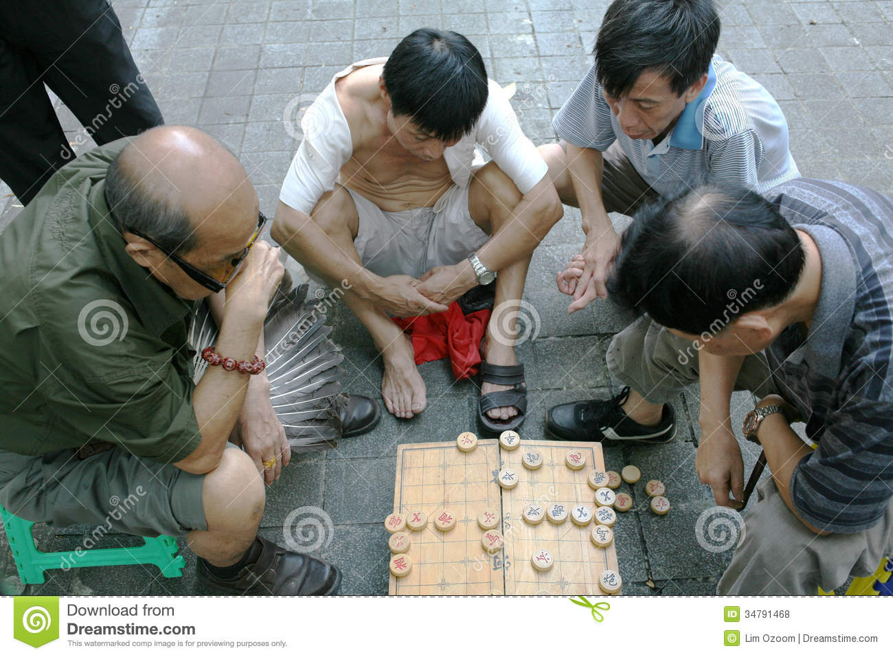 Chinese playing game loses