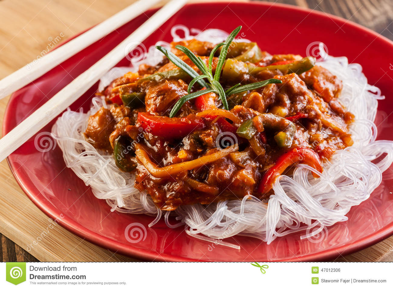 how to make chinese rice noodles