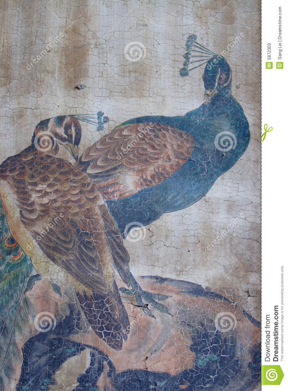 Chinese classical painting stock photos image 5872303 for Classical mural