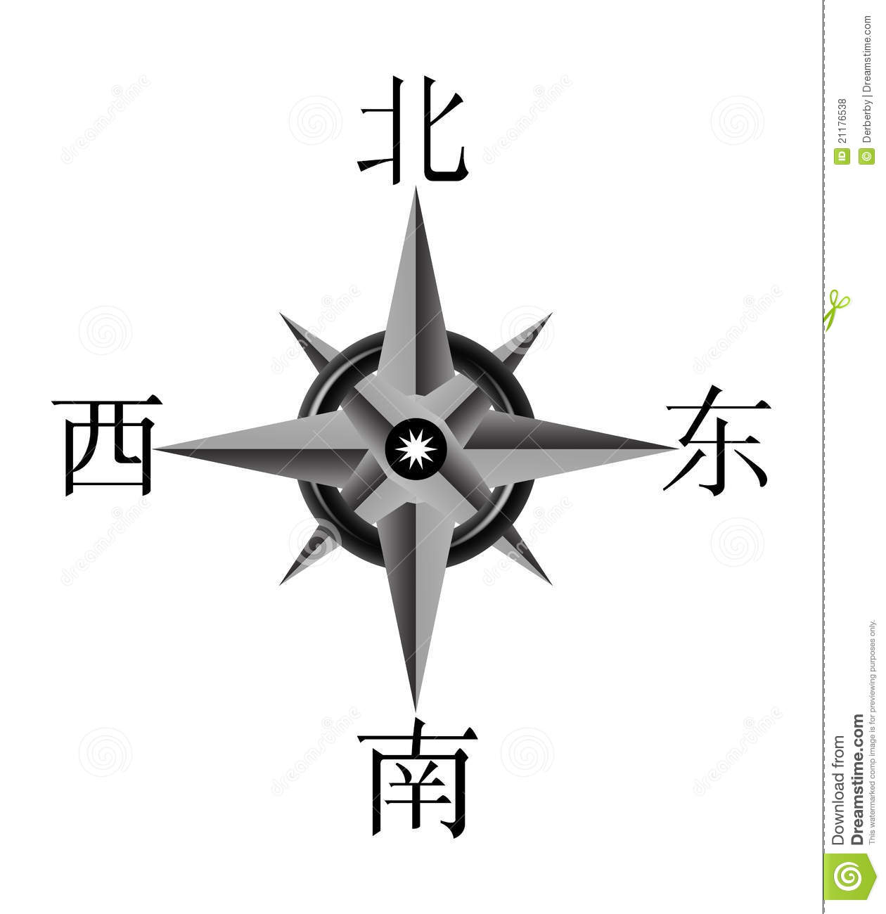 Chinese Compass Royalty Free Stock Photos - Image: 21176538