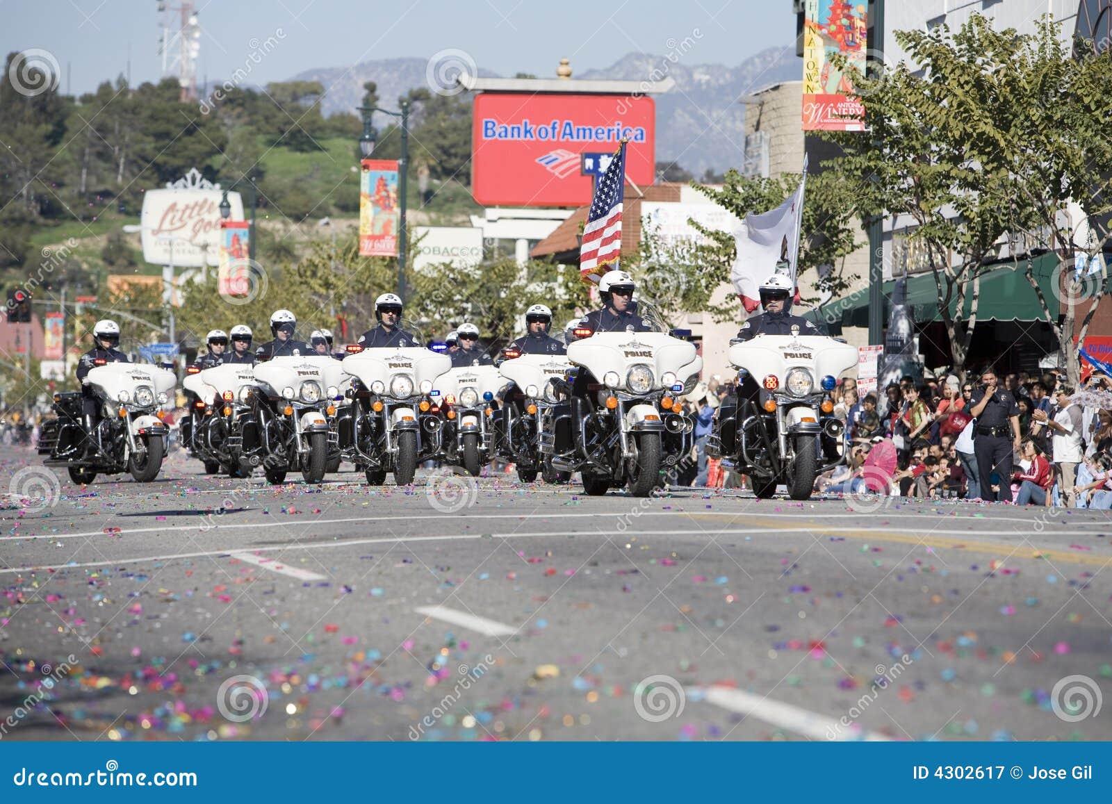 Chinese Cop van de Parade van het Nieuwjaar Vorming 1