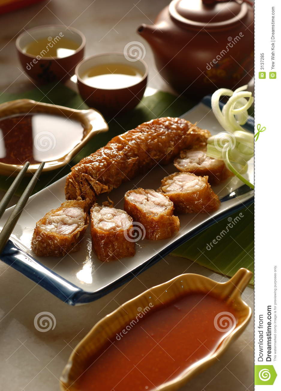 Chinese cuisine sprin roll royalty free stock photo for Ajk chinese cuisine