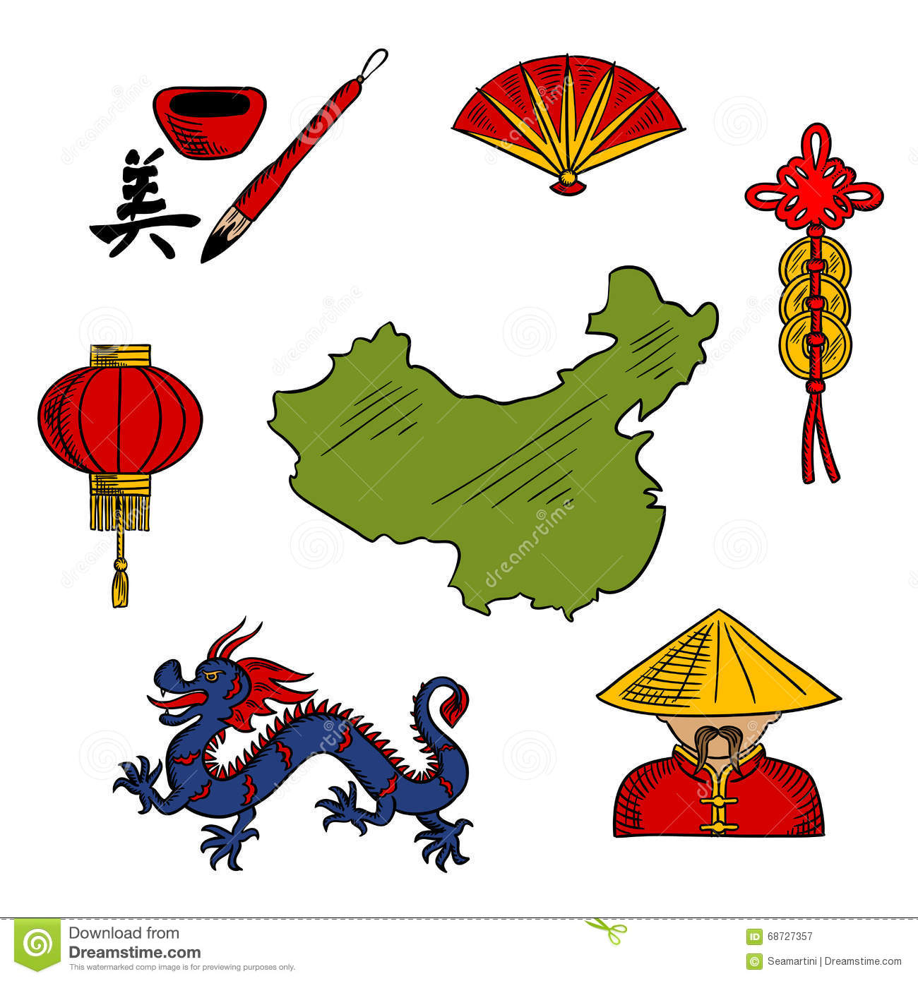 Chinese Culture Clip Art – Cliparts