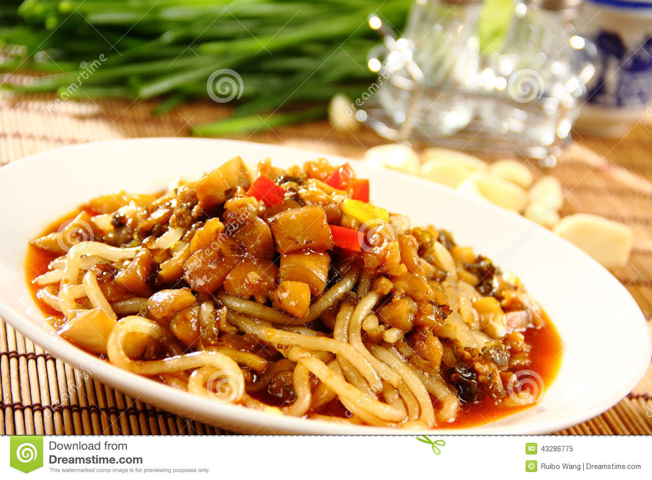 Chinese delicious food stock image image of grain drink 43286775 - Delicious chinese cuisine ...
