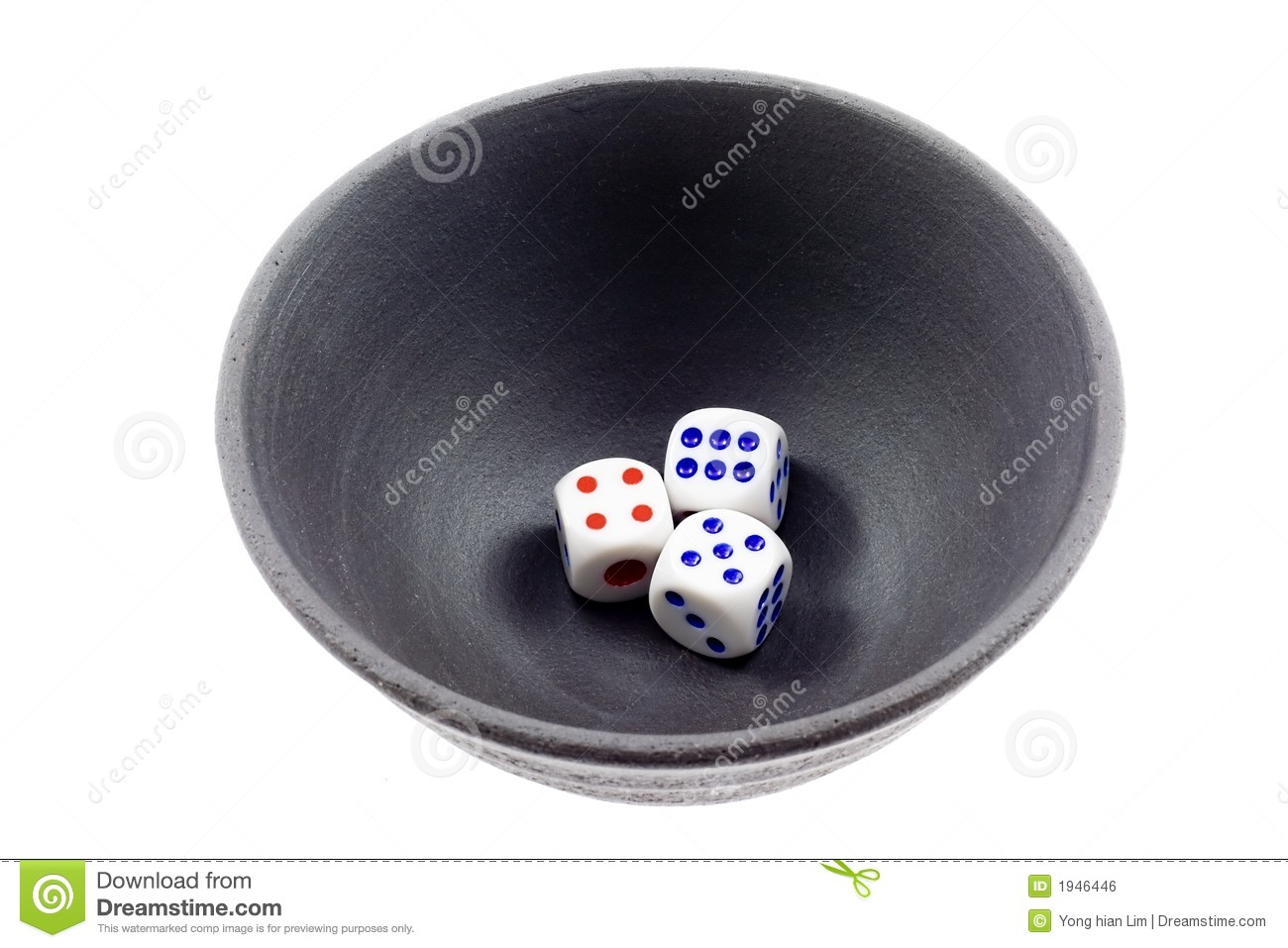 Chinese Dice Game Royalty Free Stock Image Image 1946446