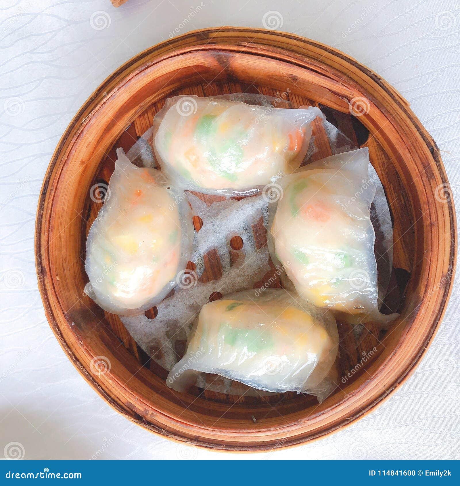 Chinese Dim Sum stockfoto. Bild von summe, kantonesisch - 114841600