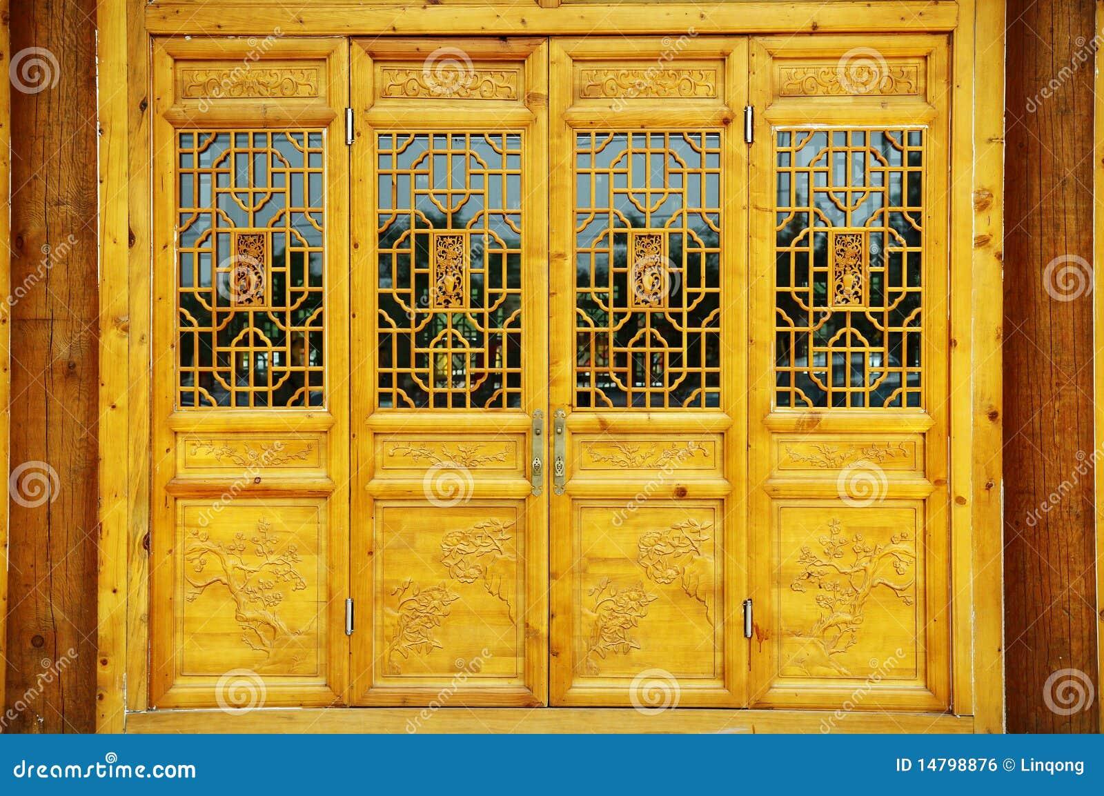 Charmant Chinese Door