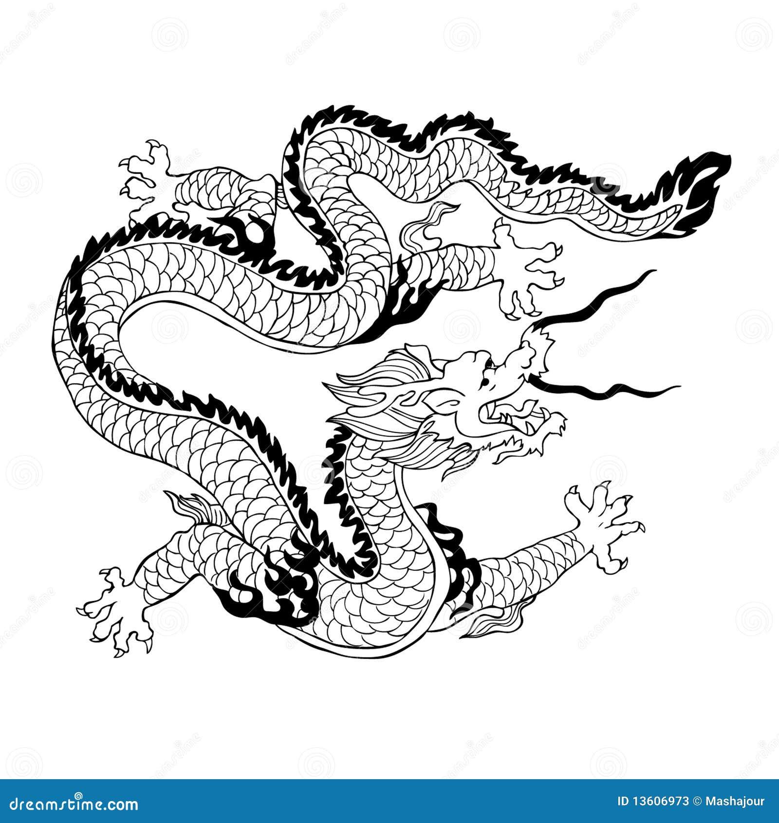 Chinese Dragon Stock Photos - Image: 13606973