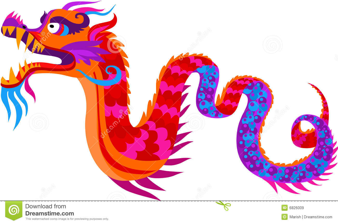 chinese dragon royalty free stock images image 6826009