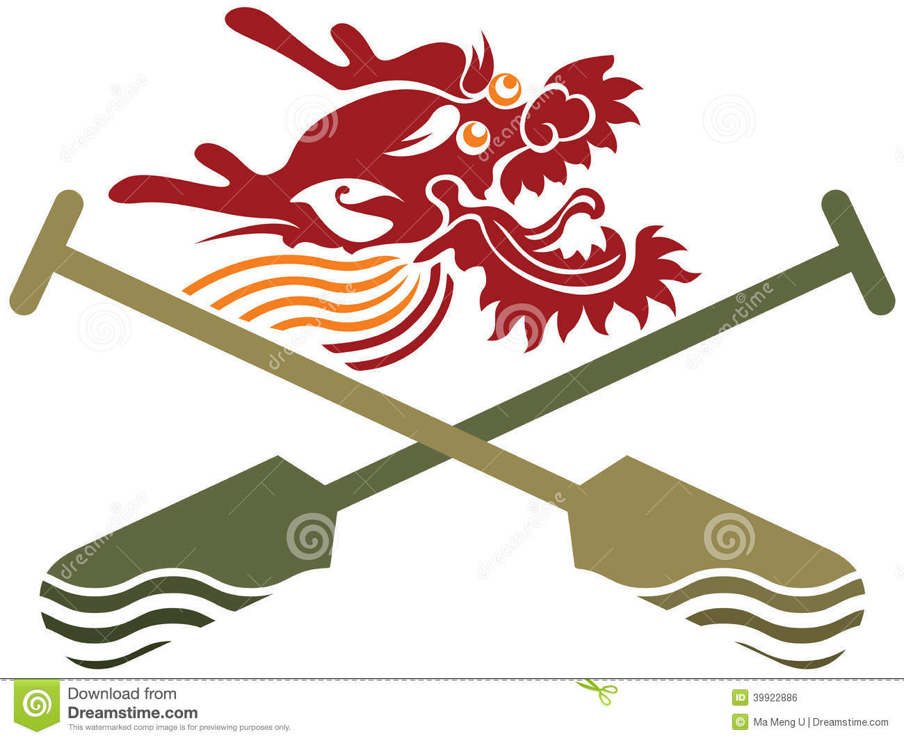 Chinese dragon boat competition illustration stock vector chinese dragon boat competition illustration astrology traditional buycottarizona Gallery