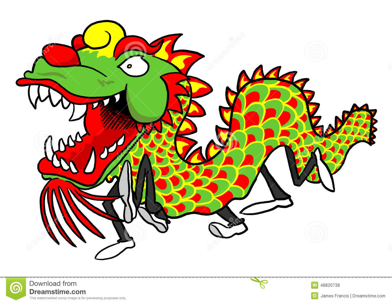 Chinese Dragon Dance Video For Kids