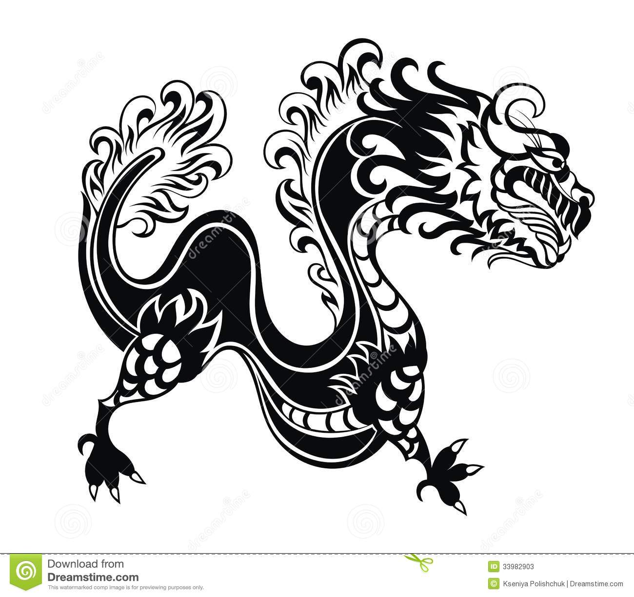Chinese new year dragon symbol images symbol and sign ideas chinese dragon stock vector illustration of fantasy 33982903 chinese dragon buycottarizona biocorpaavc