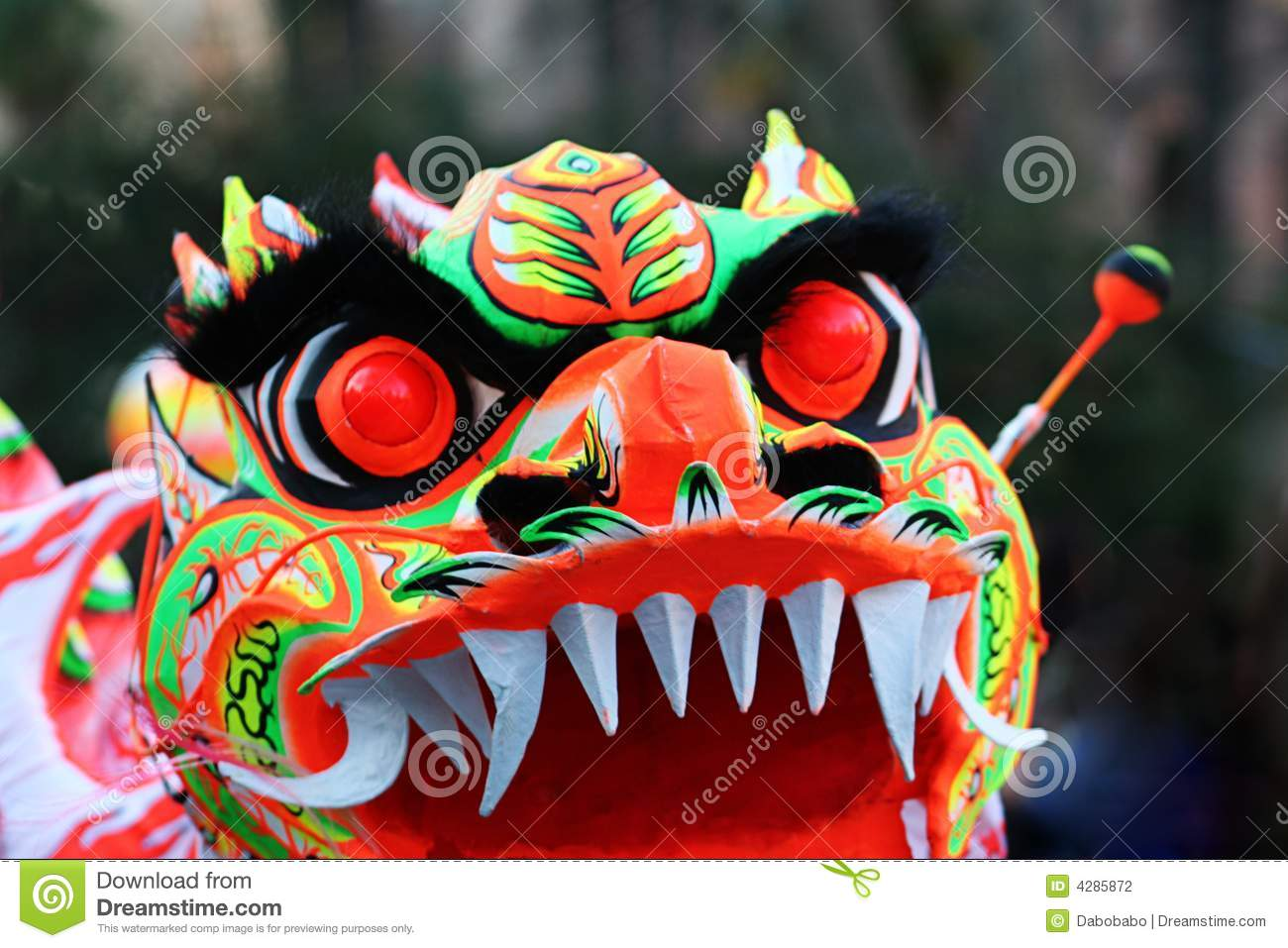 Chinese Dragon mask eyes stock photo. Image of cultural ...