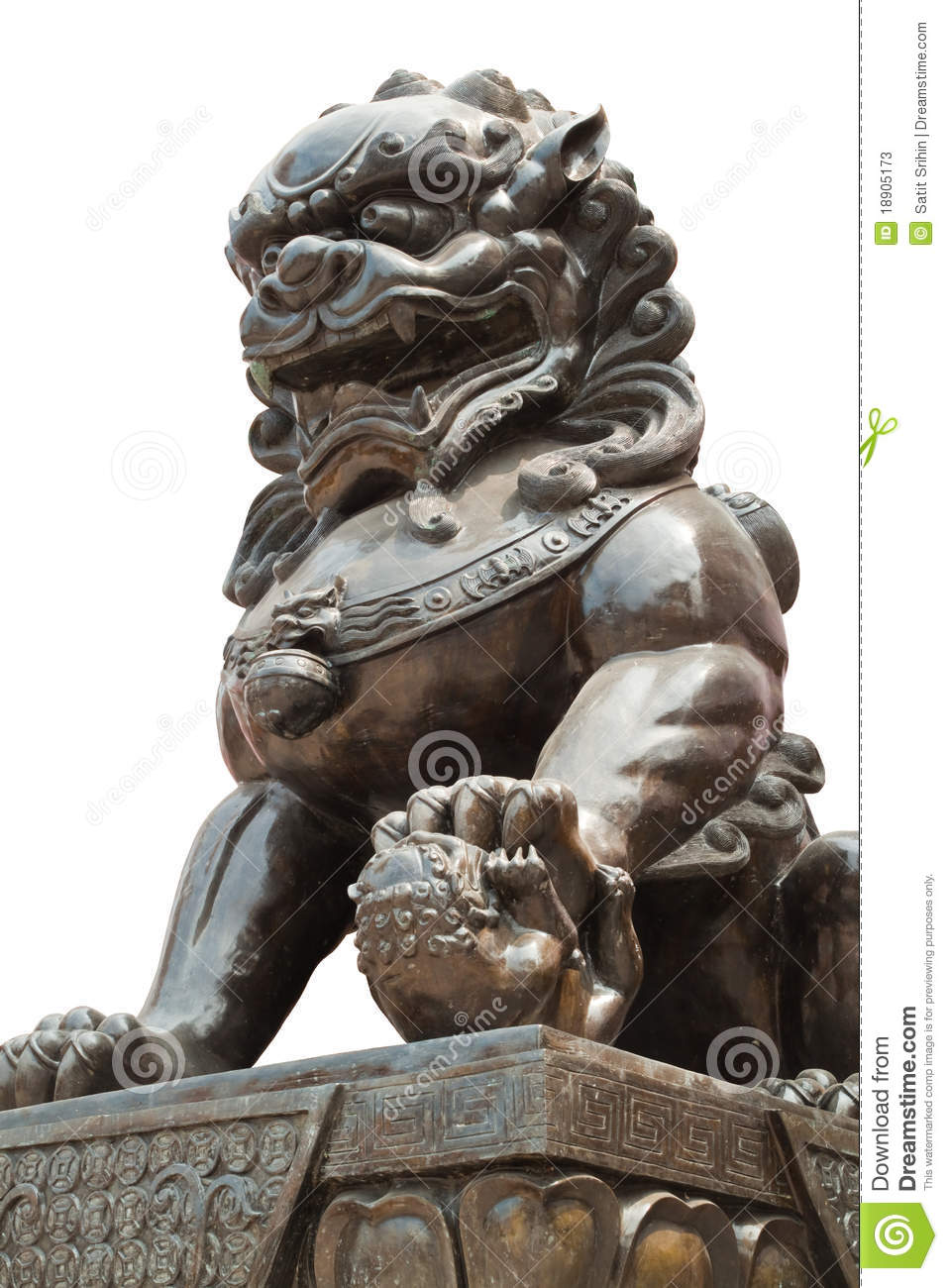 Chinese Dragon Statue Sculpture Stock Photos - Image: 18905173