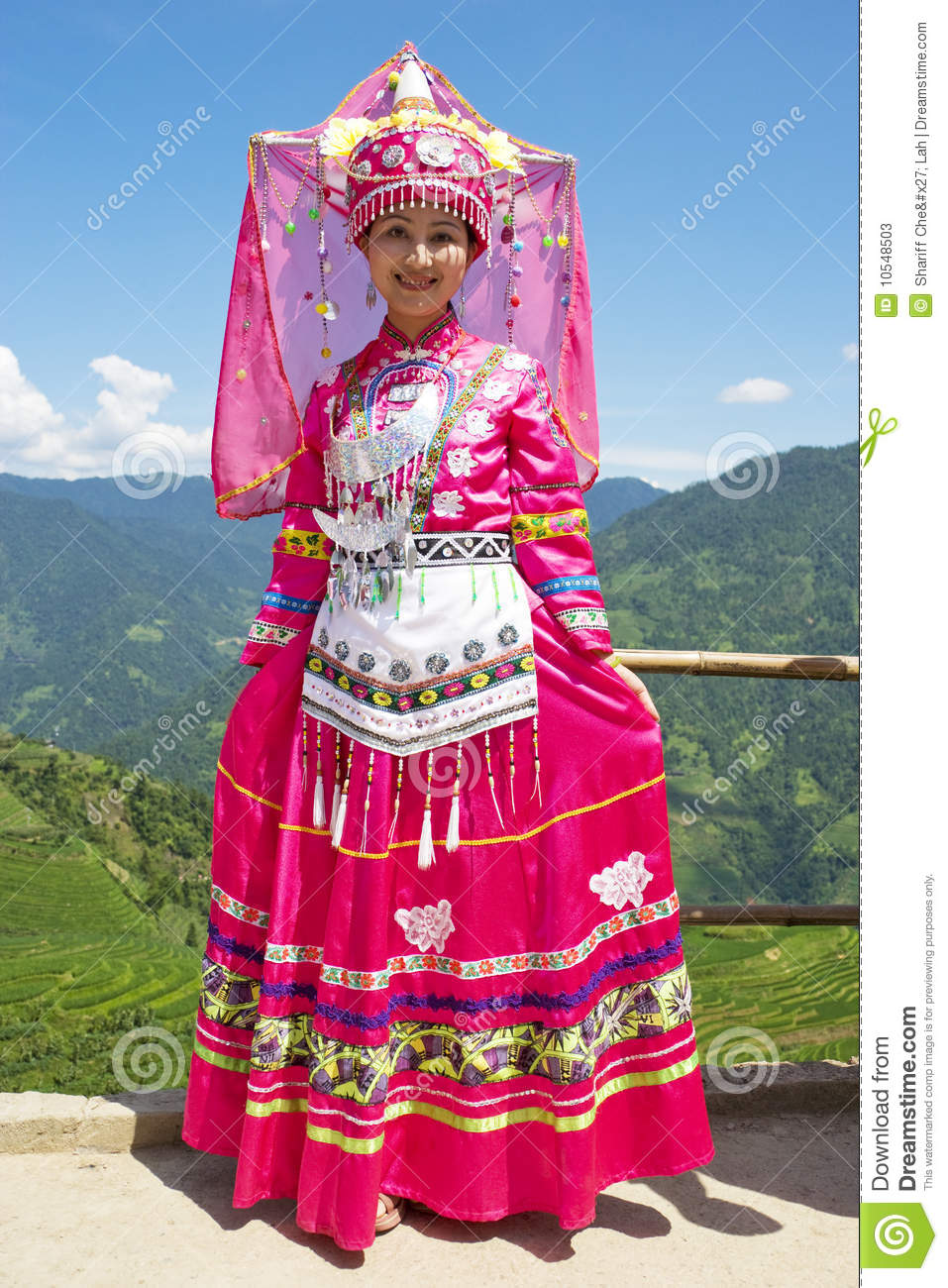 Download Chinese Ethnic Girl In Traditional Dress Editorial Stock Photo - Image of tradition fashion  sc 1 st  Dreamstime.com & Chinese Ethnic Girl In Traditional Dress Editorial Stock Photo ...