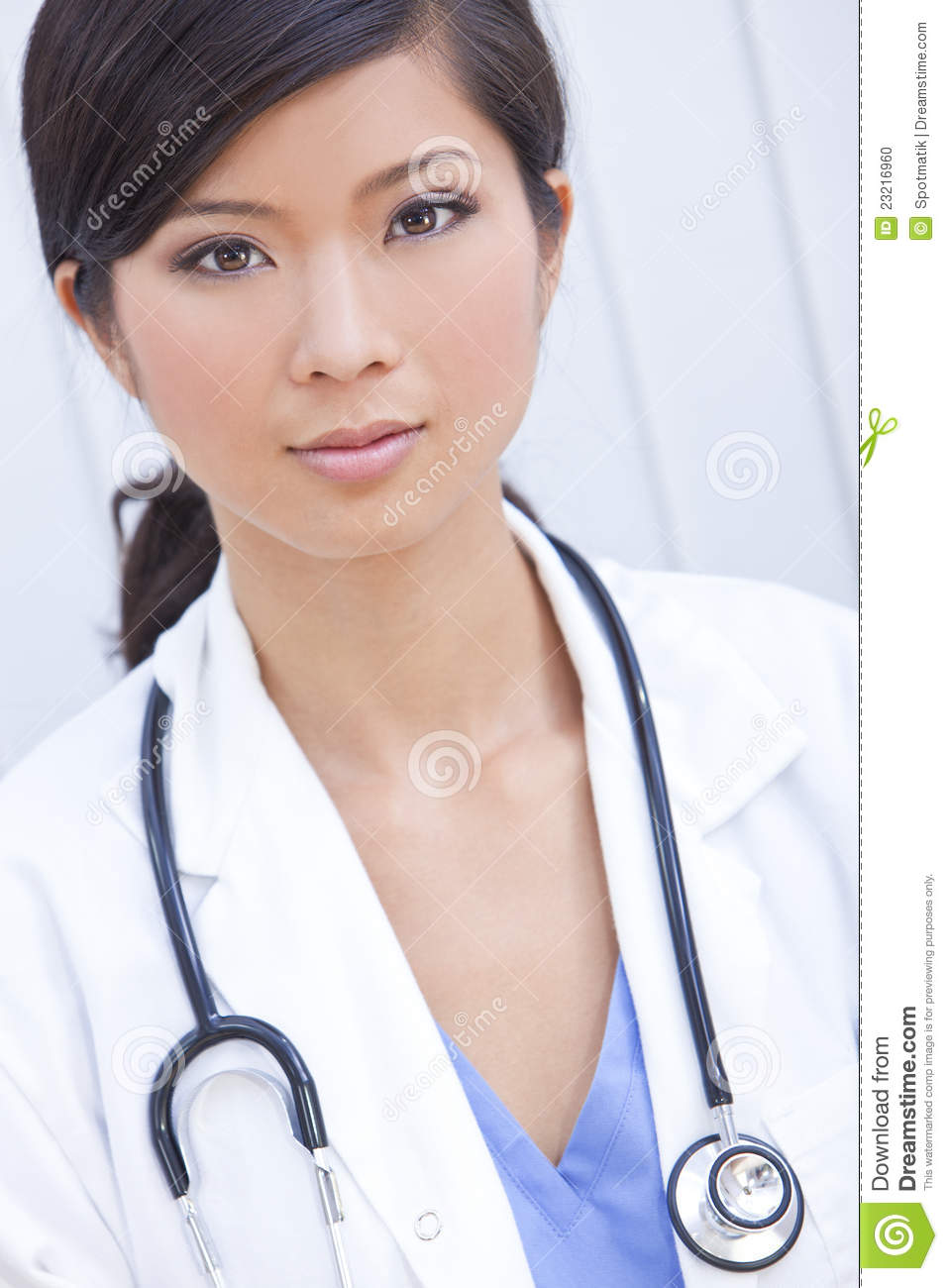 Asian Female Doctor
