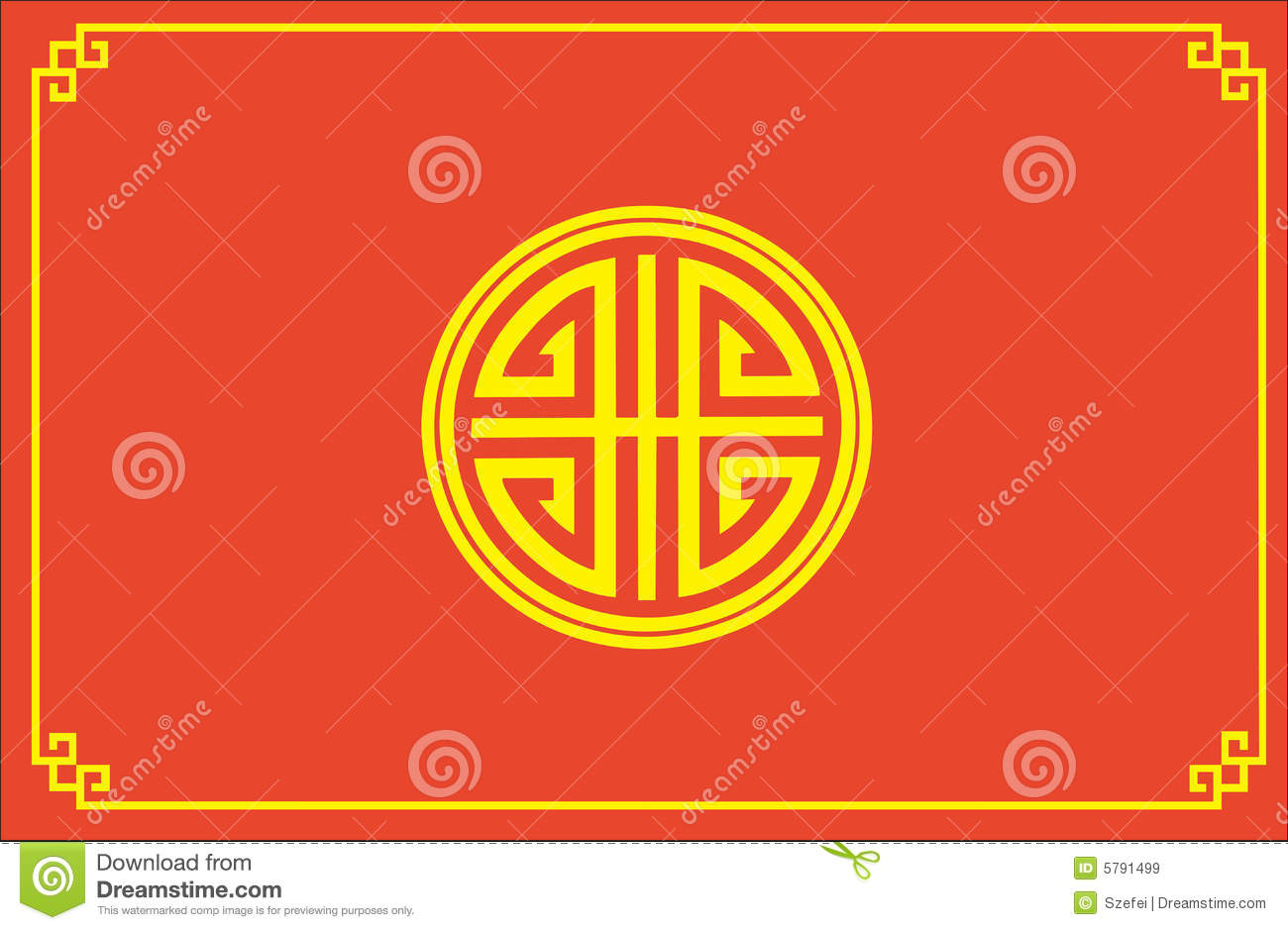 Chinese Feng Shui Symbol Royalty Free Stock Images - Image: 5791499