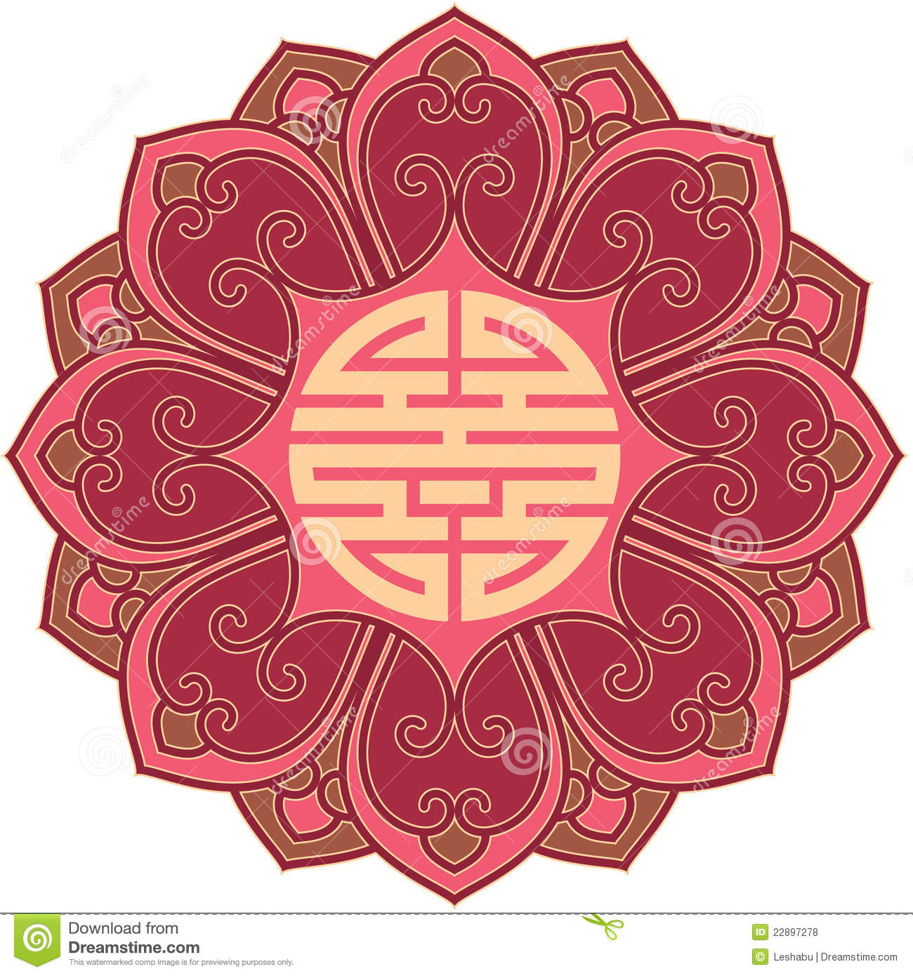 chinese flower design element royalty free stock photos  image, Natural flower