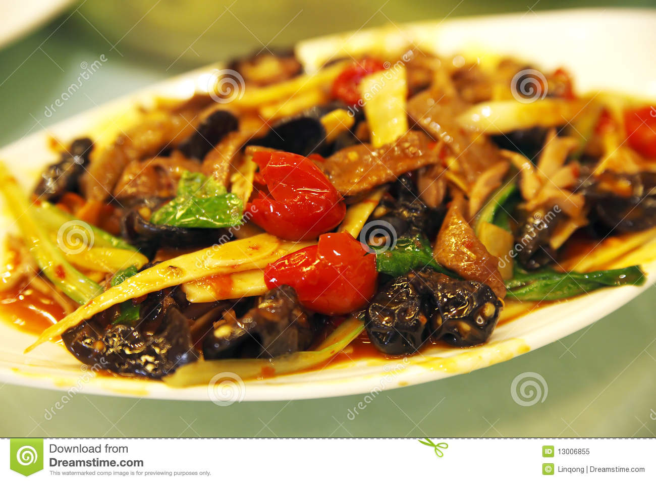 Vegetarian Food In Chinese Characters