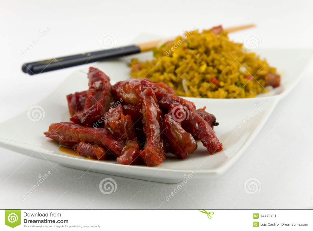Spare Ribs Chinese Food