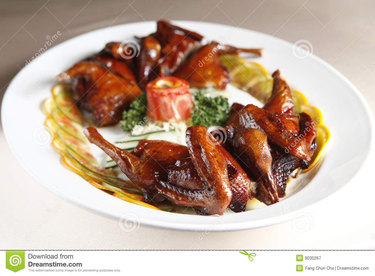 Chinese food, pigeon