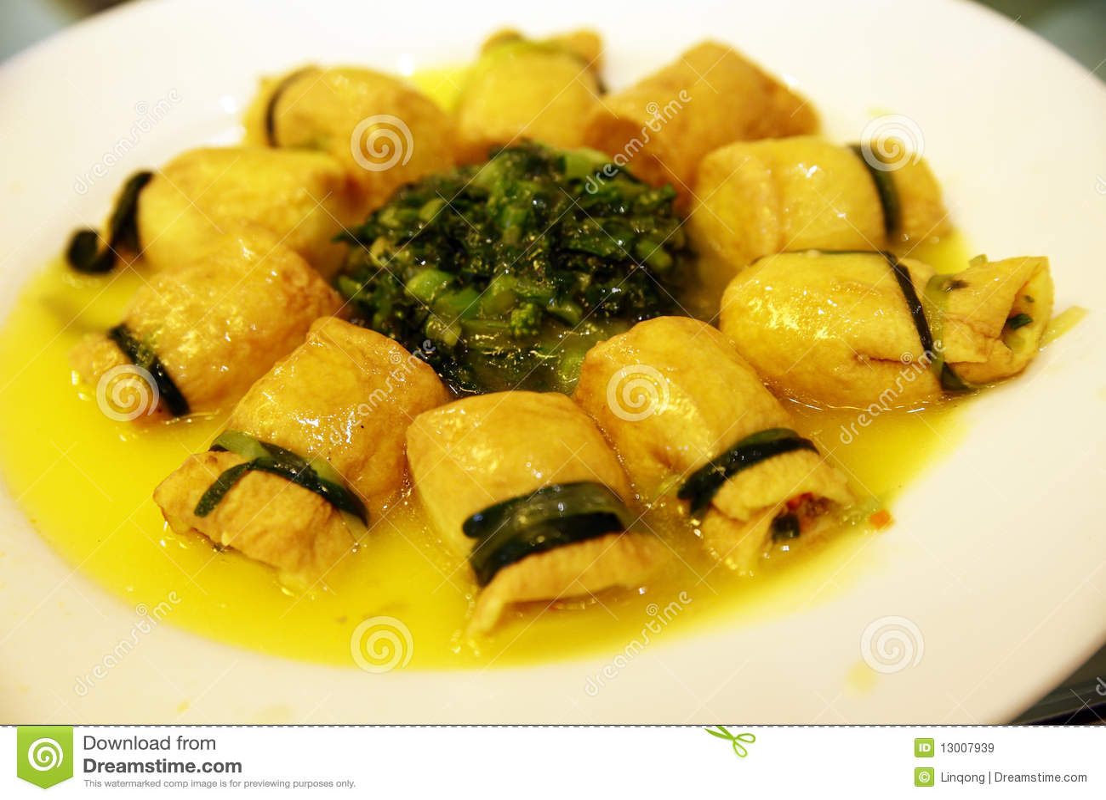 Chinese food -- tofu