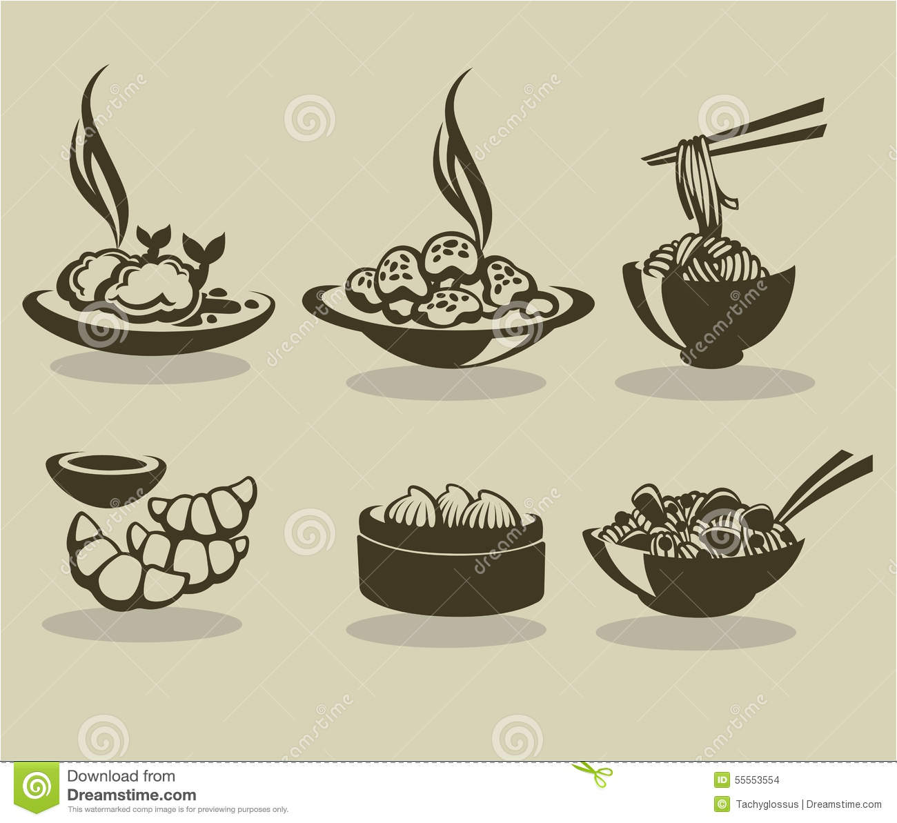 Chinese Food Stock Vector Illustration Of Kitchen Exotic 55553554