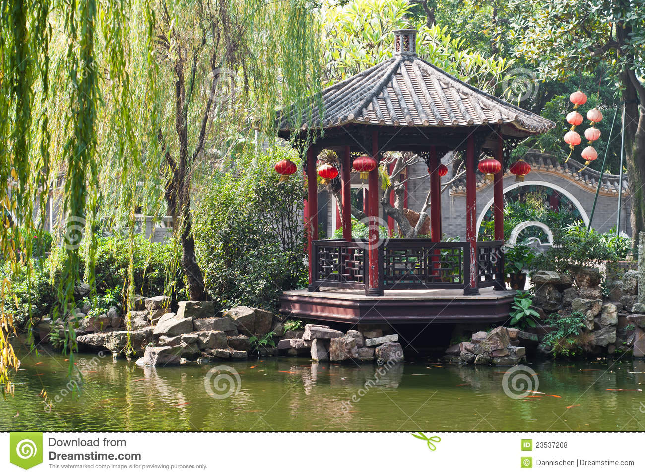 Chinese garden royalty free stock photos image 23537208 - How to create a chinese garden ...