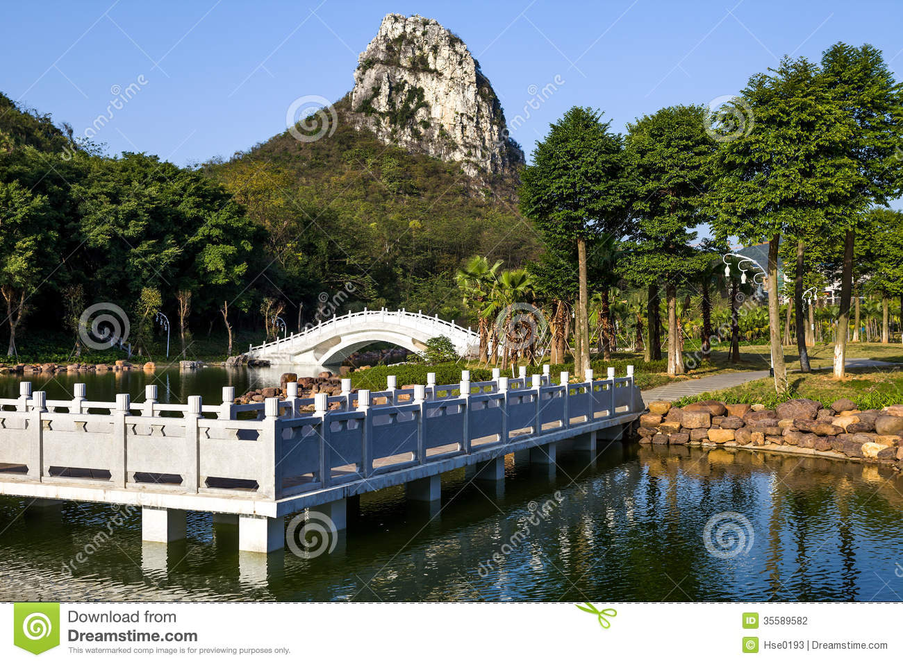 Chinese Garden Landscape Stock Photography - Image: 35589582